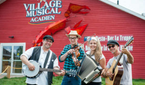 Music in the Grange à Ti-Manuel by youth @ Village Musical Acdien | Wellington | Prince Edward Island | Canada